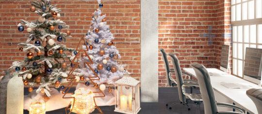 magie de Noël au bureau